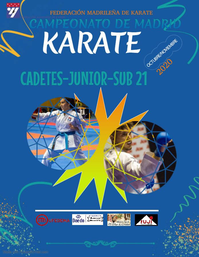 Campeonato de Madrid Cadete-Junior-Sub21 2020